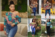Ankara tops on jeans: Trending Ankara tops styles for the year