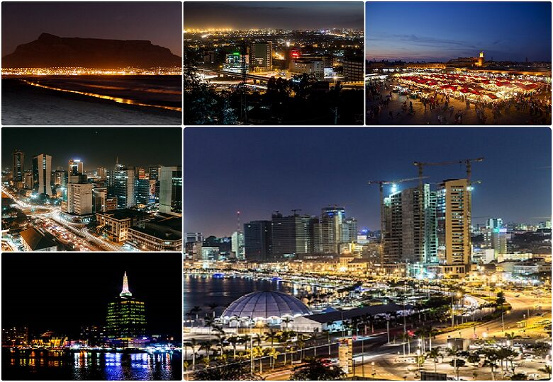 How do African cities look at night? Top 10 amazing cities [Photos]