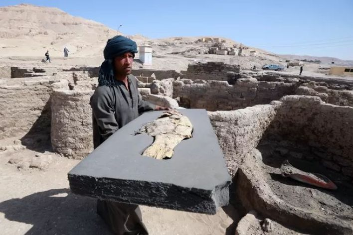 These untouched treasures in the 3,000-year-old Lost City in Egypt