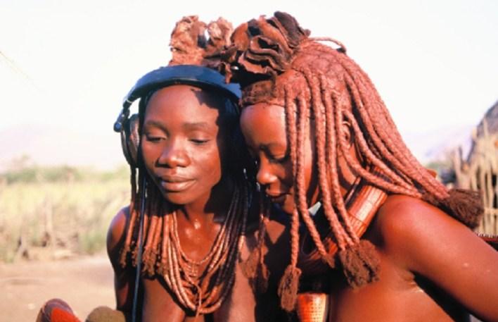 The women of Himba, Namibia