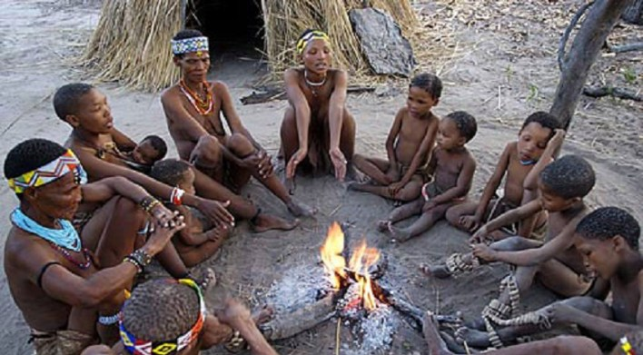 No surname, no track of time: the Kung tribe of Africa