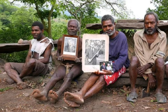 These islanders consider Prince Philip to be a deity