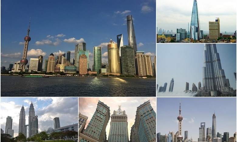 5 most famous skyscrapers in the world