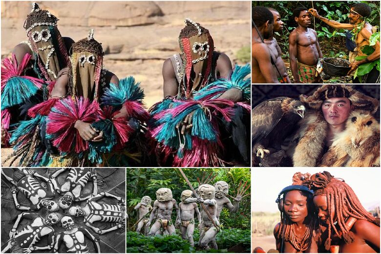 These are the most colorful tribes in the world