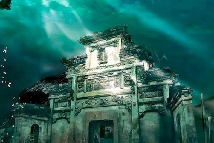 Secrets behind Shi cheng before the flooding in China