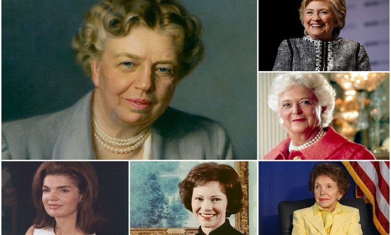 What 8 former US first ladies did after they left the White House