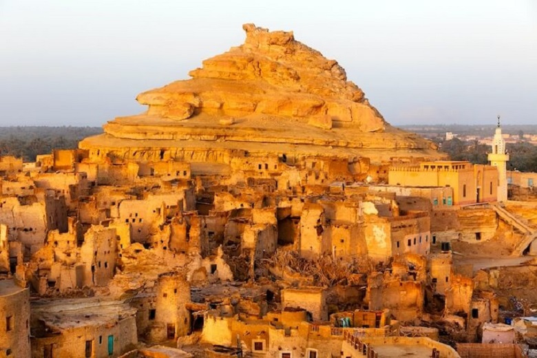 What secrets does the Faiyum oasis keep: a labyrinth for crocodiles, portraits of mummies