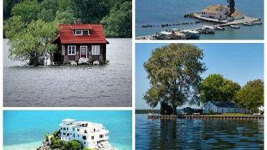 Top 5 smallest islands in the world