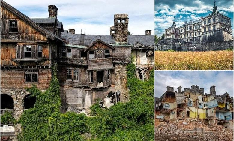 Abandoned castles that 100 years ago conquered with grandeur