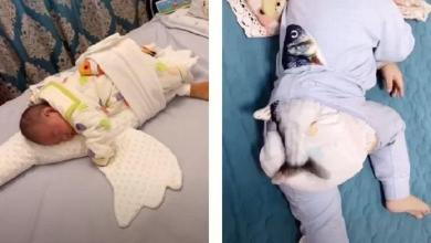 A cat toy as a magical sleeping aid? Your baby will immediately doze off