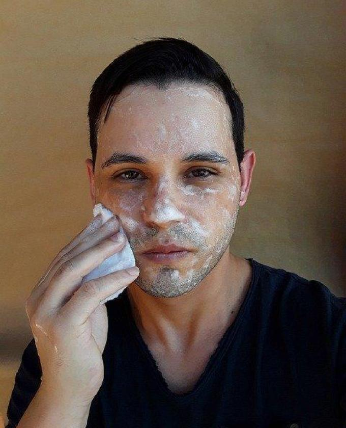 Wash your face every day