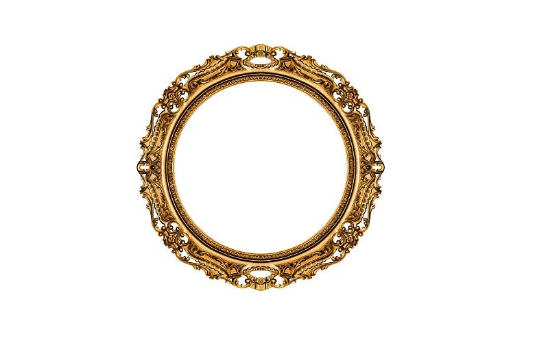 What were the first mirrors, and how did they change over time?