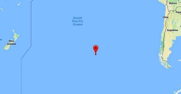 Location of point Nemo