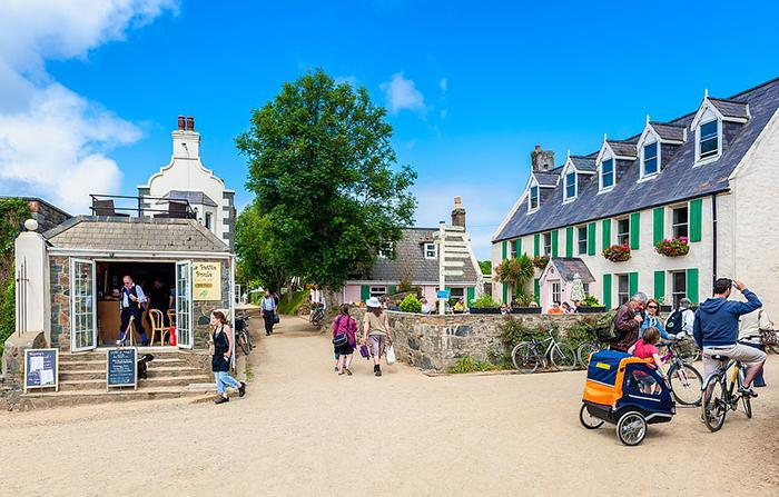 Life in Sark is peaceful and calm, and the population is only 500 people