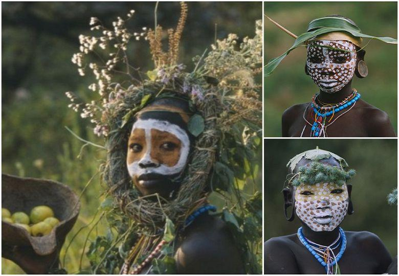 """Hot """"trends"""" of Ethiopia: rare pictures of Surma and Mursi tribes"""