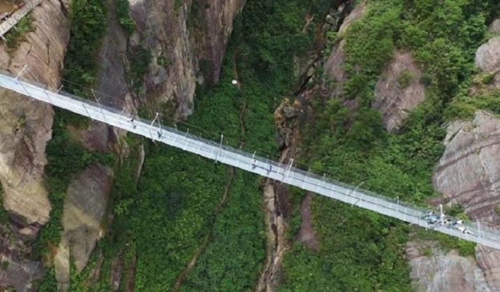 The longest bridge of fear in the world
