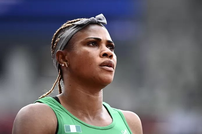 Nigerian sprinter Blessing Okagbare has been banned from the Tokyo Olympics. On July 19, she tested positive for a growth hormone during an out-of-competition doping test