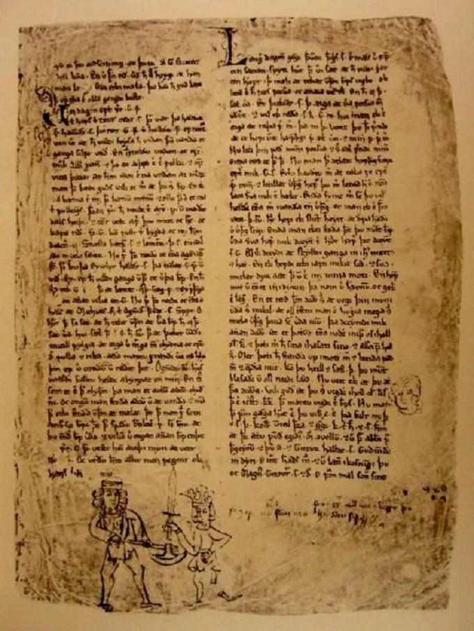 Fragment of the Sturlung Saga