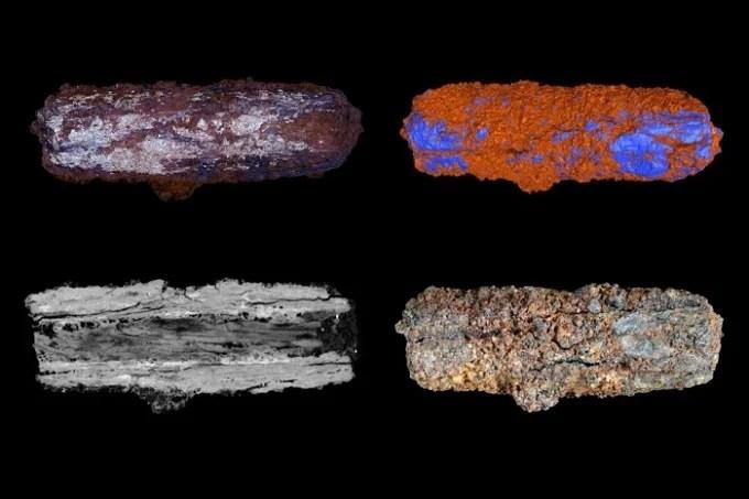 Metal beads of extraterrestrial Egyptian origin