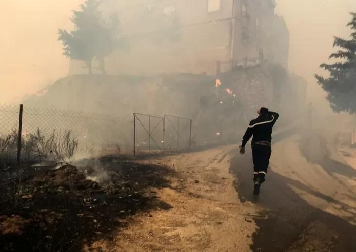 Fire in Algeria