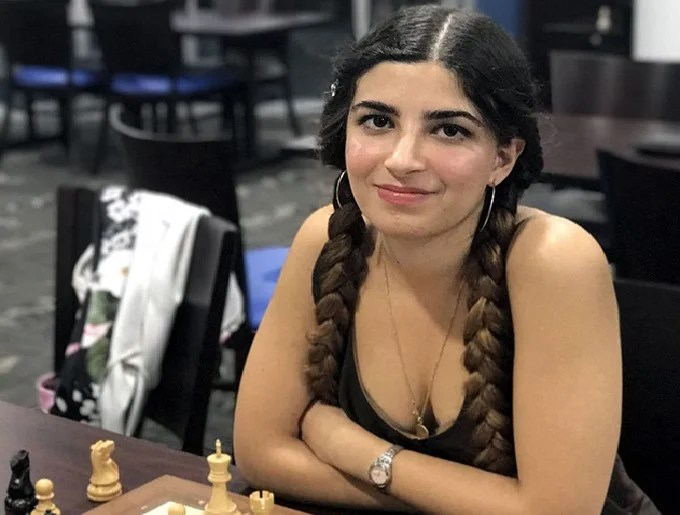 When headscarf is more important than talent: Iranian chess player become a champion of a foreign country