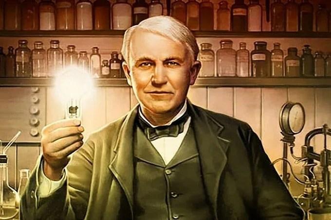 Thomas Edison invented the carbon filament lamp