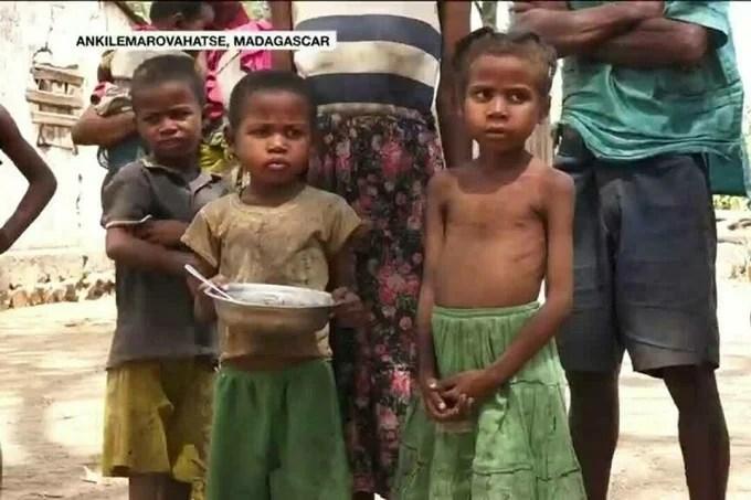 Madagascar hunger crisis threatens hundreds of thousands, especially children