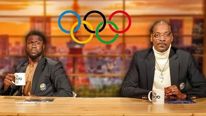 Snoop Dogg and Kevin Hart score 'gold' with Olympic commentary