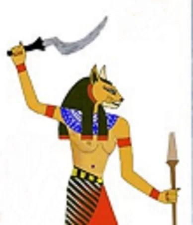 the goddess Mafdet