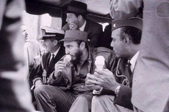 "How Comandante Fidel Castro became the ""King of Ice Cream"""