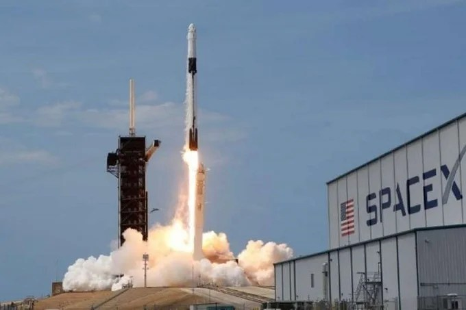 First all-civilian space flight: first time only civilians are going on a space flight around Earth