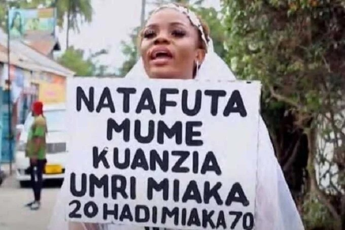 """""""I have money"""", Tanzanian woman desperately seeking a husband"""
