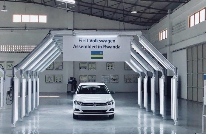 Volkswagen ouvre une usine d'assemblage au Rwanda