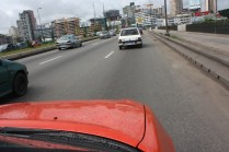 """En retournant au Plateau / Driving back to """"Plateau"""""""