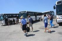 La fréquentation de l'île-prison a beaucoup augmenté ces dernières années / The number of visitors has increased a lot in the last few years