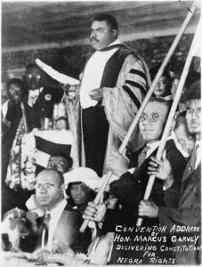 Marcus Garvey Prêche