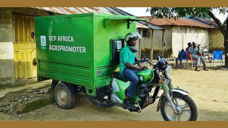 OCP AFRICA lance Farmer House et Agripromoter, deux initiatives complémentaires au service des fermiers