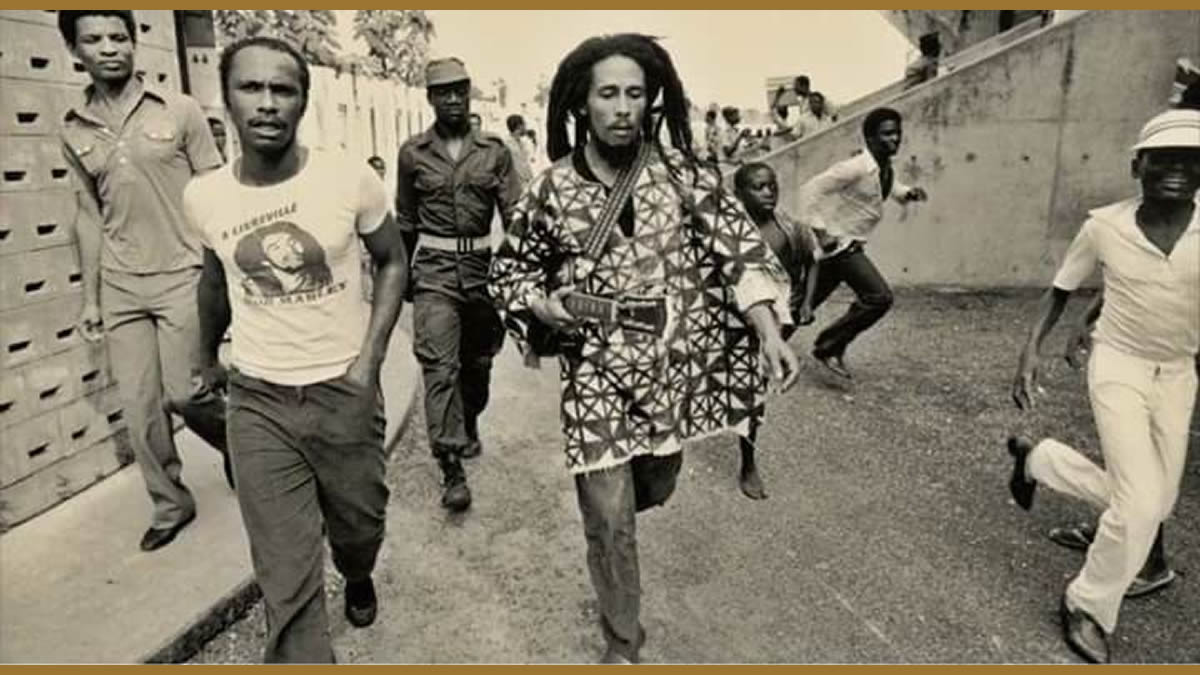 Bob Marley, l'Afrique et la fille d'Omar Bongo