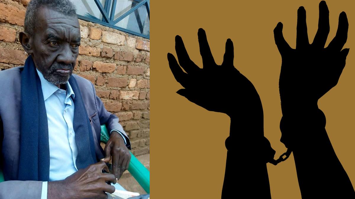 """Célestin Ntambuka Mwene C'Shunjwa – """"Les chaînes"""""""