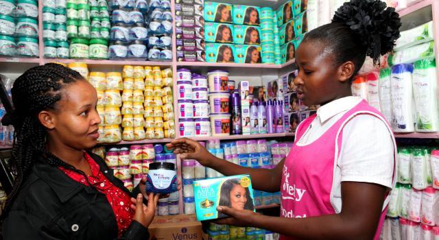 produits de beauté africains