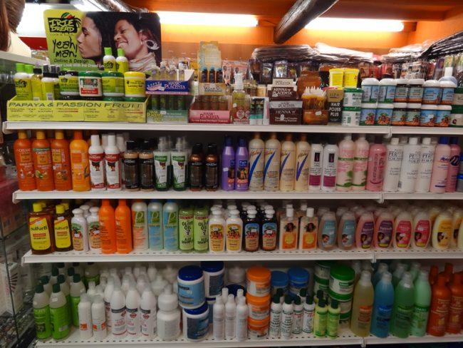 Produits de beauté en Afrique