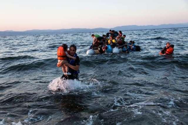 Sauvetage migrants syriens