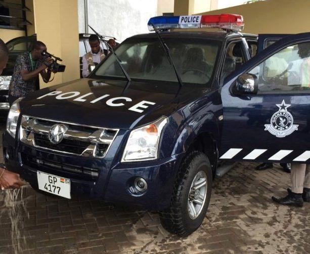 Les véhicules de police