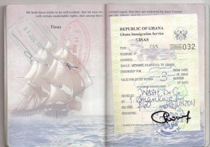 visa Ghana