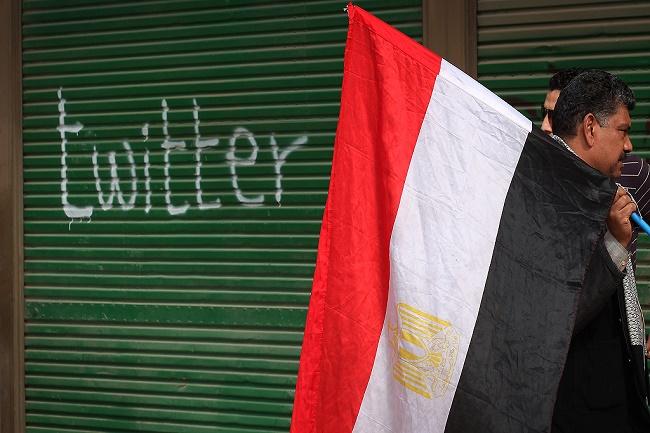 Twitter et printemps arabe
