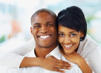 Amour africain couple