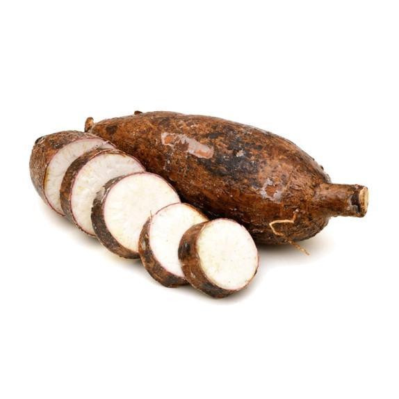 Manioc découpé en tranches