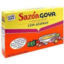 Sazon Goya : si es Goya, tiene que ser bueno!