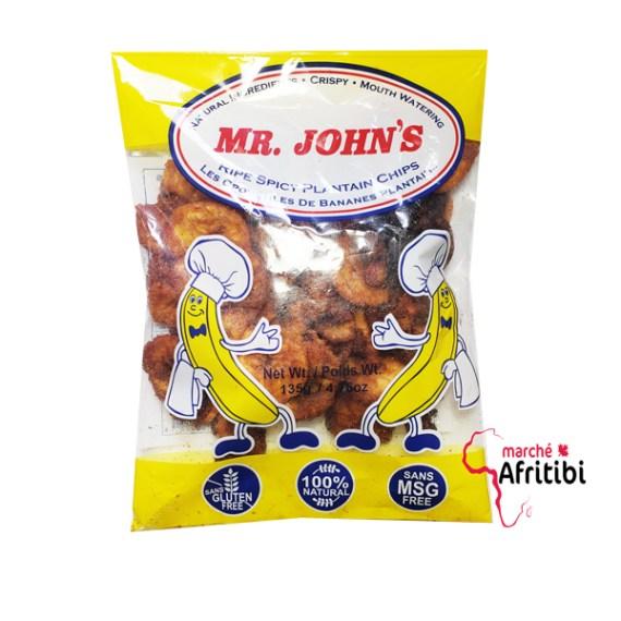 Chips de banane plantain mûre et epicé #afritibi