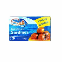 Boulette de Sardine a l'huile de Tournesol